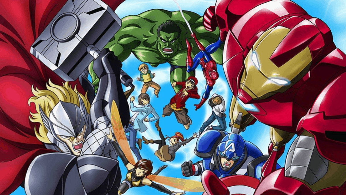Marvel Disk Wars': That Time Japan Turned the Avengers Into Pokémon - Murphy's Multiverse