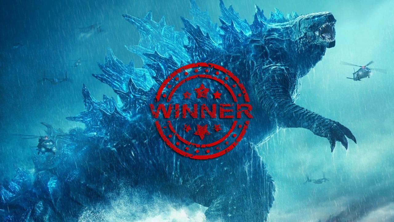godzilla winner