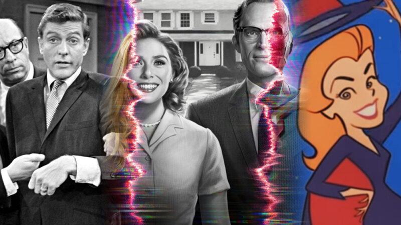 wandavision sitcom