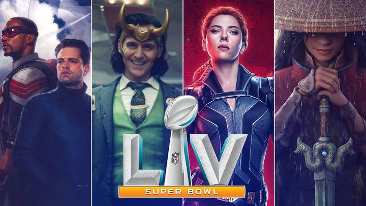 disney marvel super bowl