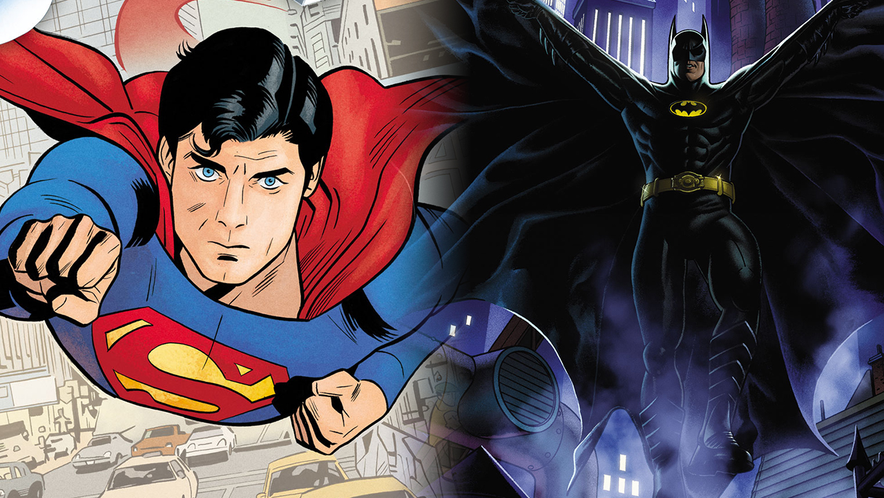 batman superman comics