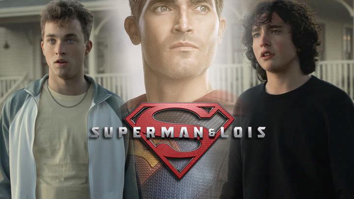superman and lois boys