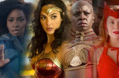international women's day superheroes