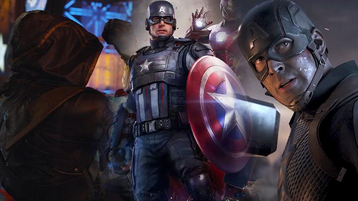 marvel avengers mcu captain america