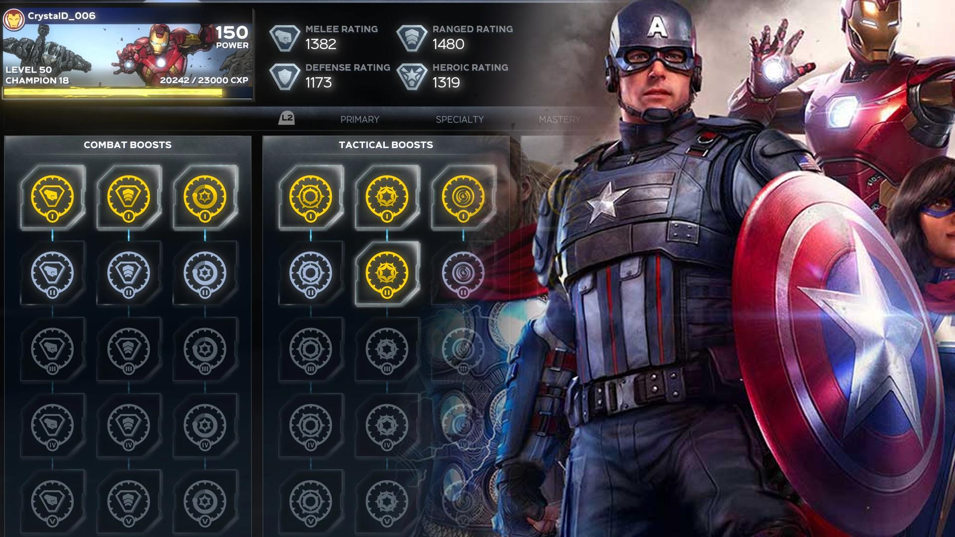avengers game champion
