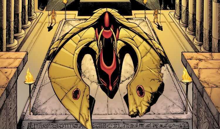 Hawkman ship DC comics