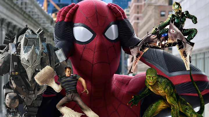 spiderman no way home villains