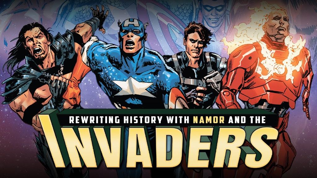 invaders marvel studios